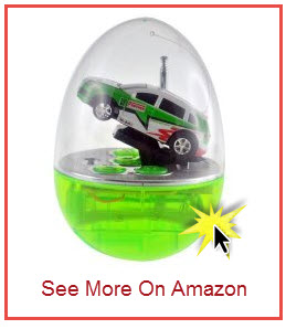 Watch Tiny Egg Shell Racer Video, Buy from Amazon